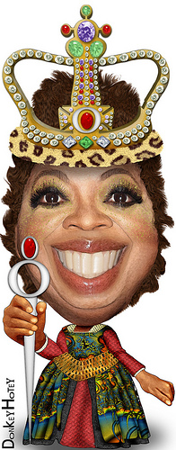 Oprah Characte by Artist DH