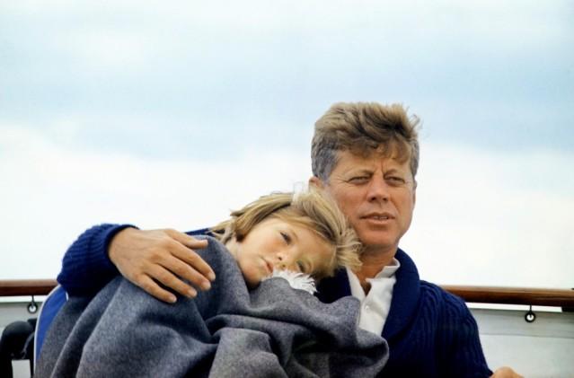 Kennedy with Caroline