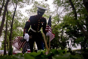 Marines Remember the Fallen